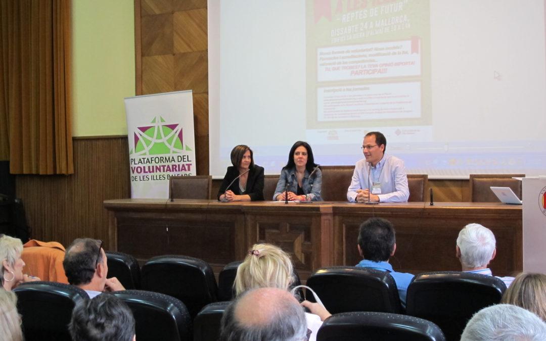 Jornadas sobre voluntariado en las Islas Baleares