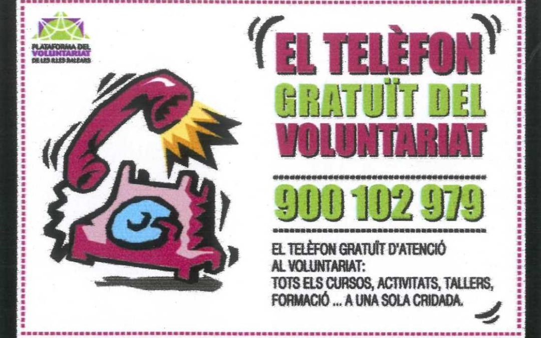 Linia 900, el telefono gratuito del voluntariado