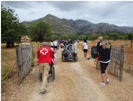 """Programa """"Natura per Tothom"""" de Cruz Roja – Premio Solidaritat 2014"""