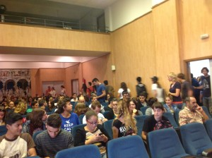 Charla sobre voluntariado en el IES Josep Mª Llompart