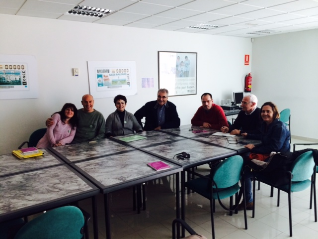 Miembros de la Comisión Ejecutiva se reunen con entidades de Ibiza