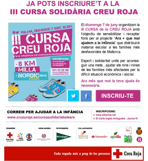 III Cursa de la Creu Roja