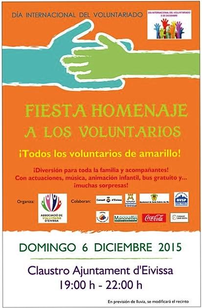 Fiesta Homenaje a los Voluntaris d'Eivissa