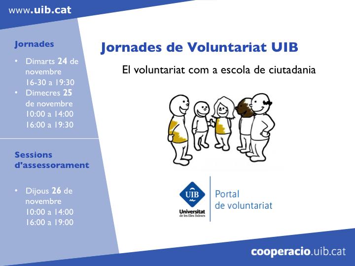 Nuevo Portal UIB del Voluntariado