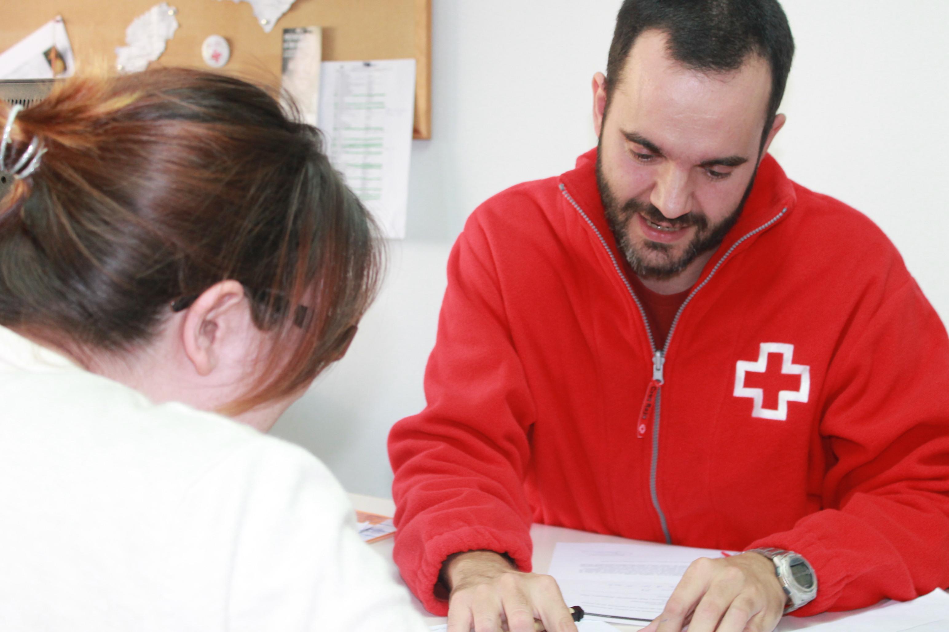 Voluntariat al Servei de Suport a les Necessitats Bàsiques de Creu Roja