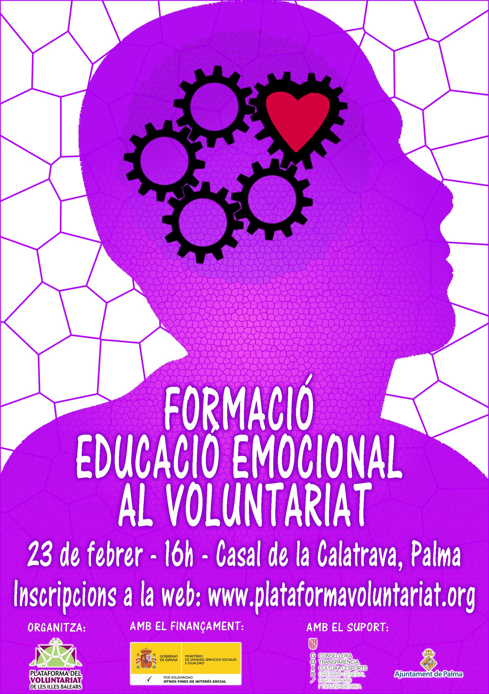 Formación en Educación Emocional al Voluntariat
