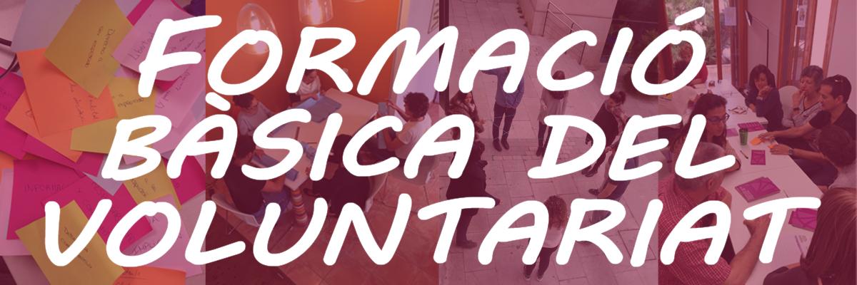 Formació Bàsica del Voluntariat a Palma 25 de maig
