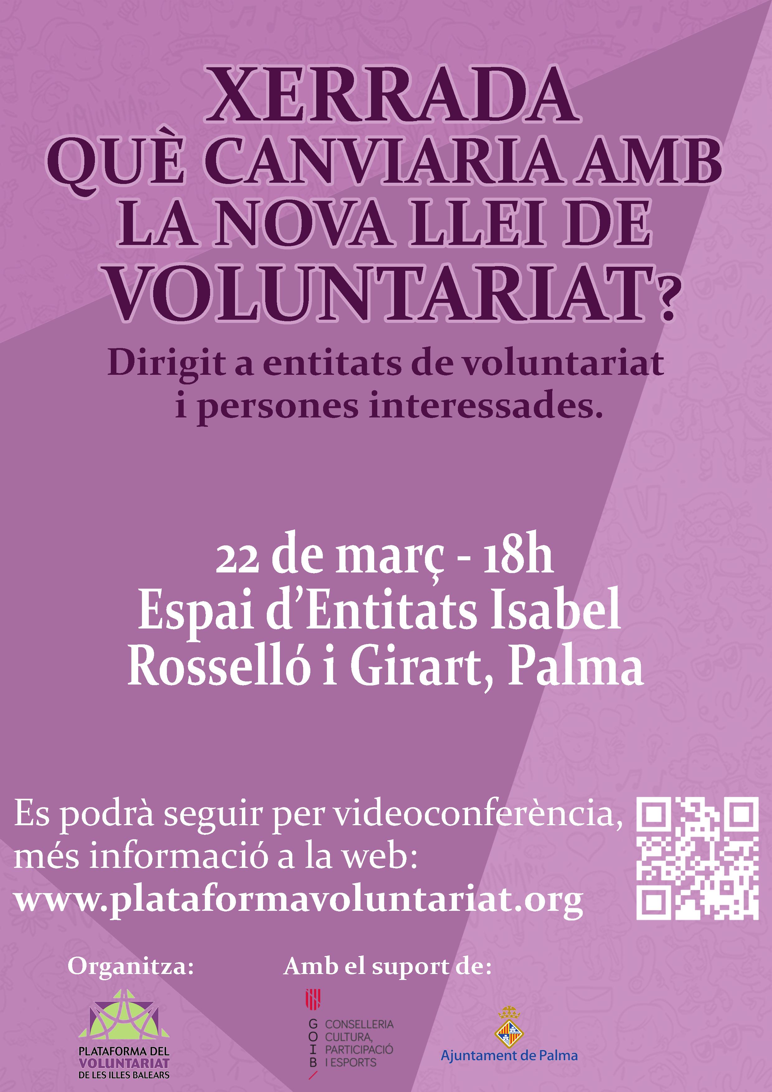¿Qué cambiaría con el anteproyecto de ley de voluntariado?