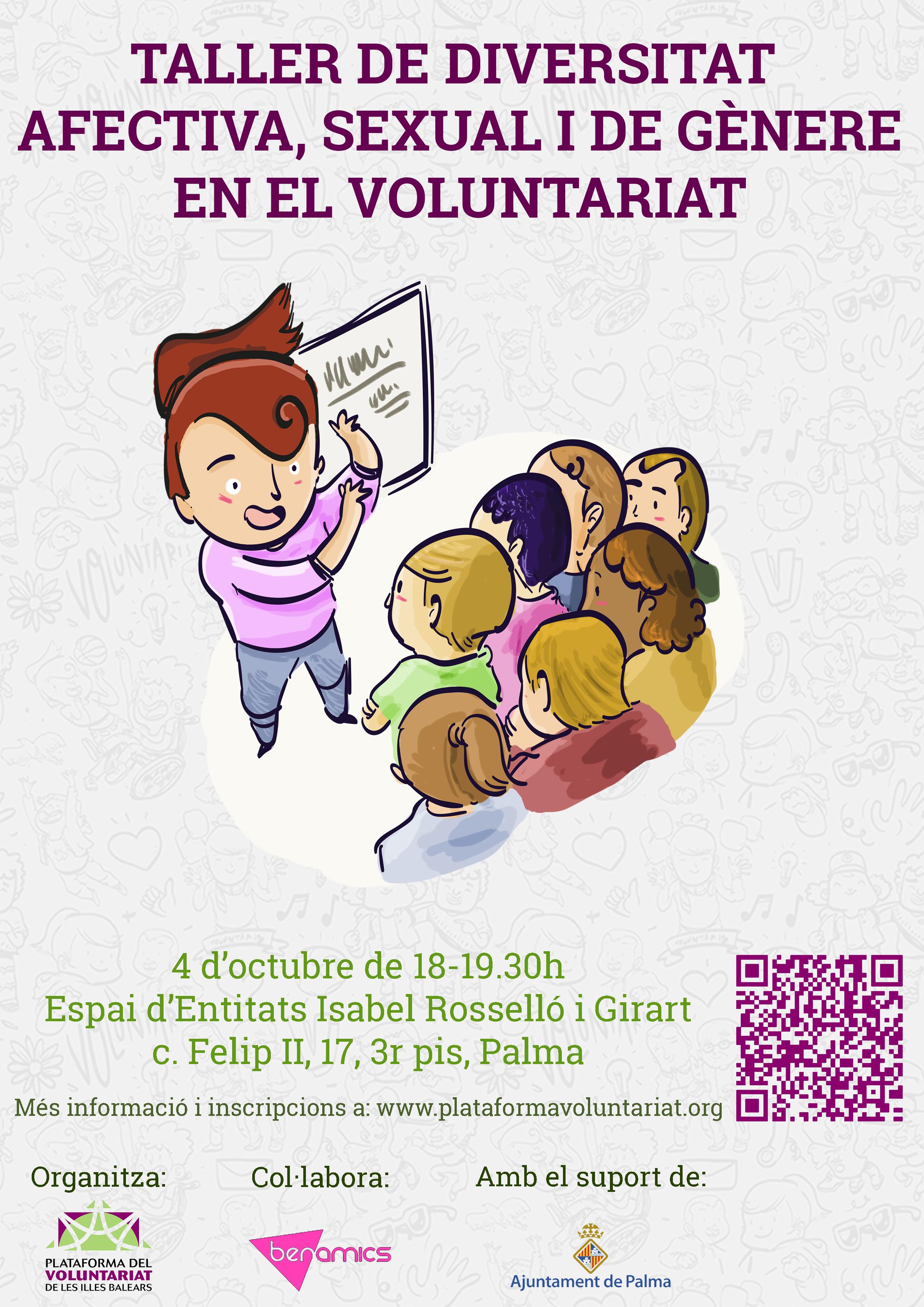 Taller de Diversidad afectiva, Sexual y de Género al Voluntariado