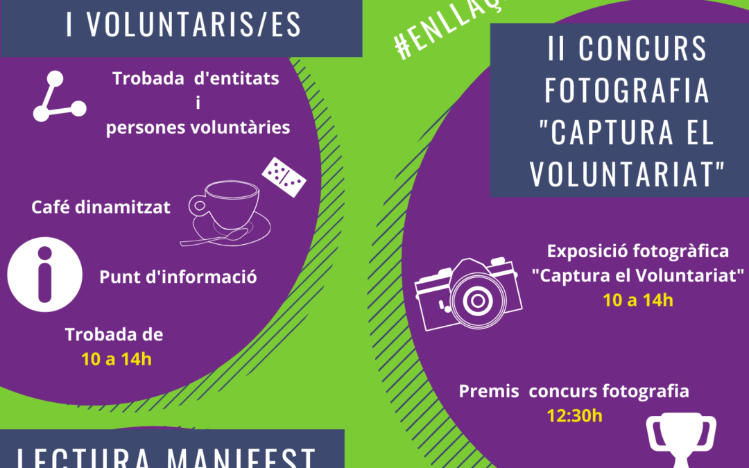 Dia Internacional del Voluntariat 2019