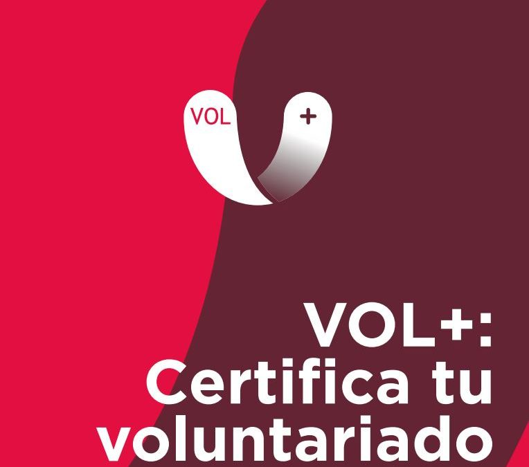 Certificació de competències del voluntariat. VOL+